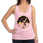 Night Flight/ German Shepherd Racerback Tank Top