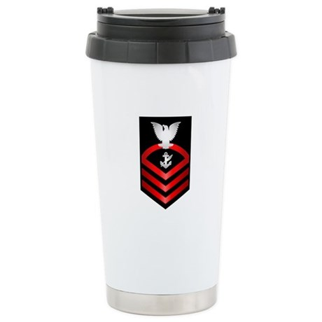 Navy Chief Counselor Stainless Steel Travel Mug