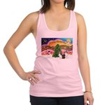 Xmas Music #2 / 2 Shelties (d Racerback Tank Top