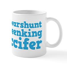 I Wasn't Drinking Officer Mug