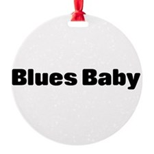 blues baby Ornament
