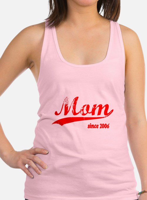 momsince2006.png Racerback Tank Top