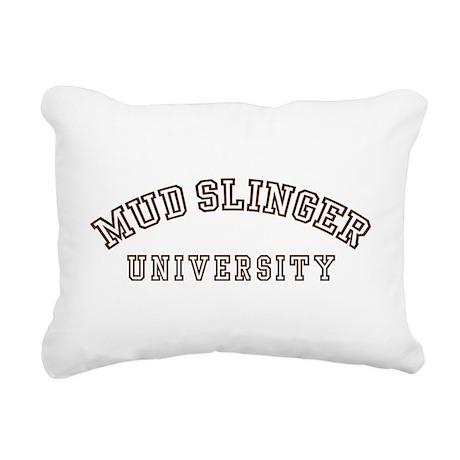 mudslinger-u-all.png Rectangular Canvas Pillow