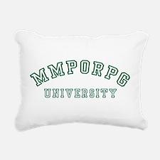 MMPORPG University Rectangular Canvas Pillow