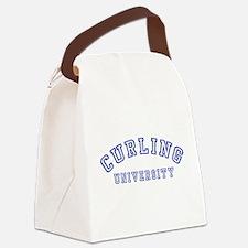 Curling University Canvas Lunch Bag