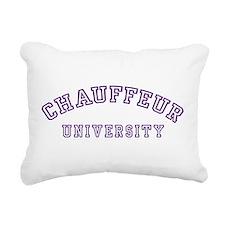 Chauffeur University Rectangular Canvas Pillow