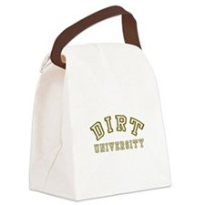 Dirt University Canvas Lunch Bag