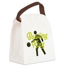 Bowling king Canvas Lunch Bag