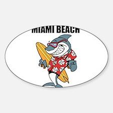 Miami Beach Decal