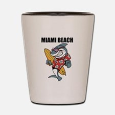 Miami Beach Shot Glass