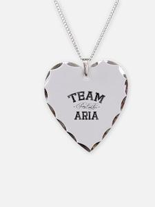 Team Aria - Pretty Little Liars Necklace