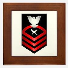 Navy Chief Cryptologic Technician Framed Tile