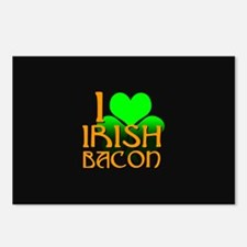 I Love Irish Bacon Postcards (Package of 8)