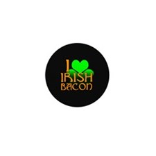 I Love Irish Bacon Mini Button (100 pack)