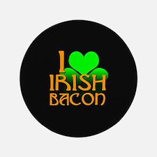 "I Love Irish Bacon 3.5"" Button (100 pack)"
