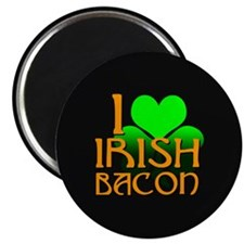 "I Love Irish Bacon 2.25"" Magnet (100 pack)"