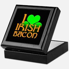 I Love Irish Bacon Keepsake Box
