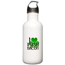I Love Irish Bacon Water Bottle