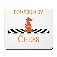 Powered By Chess Mousepad