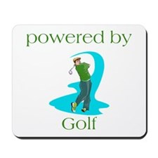 Powered By Golf Mousepad
