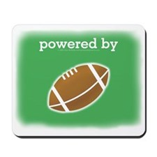 Powered By Football Mousepad