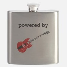 Powered By Electric Guitar Flask