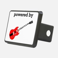 Powered By Electric Guitar Hitch Cover