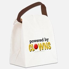 Powered By Clowns Canvas Lunch Bag