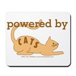 Powered By Cats Mousepad