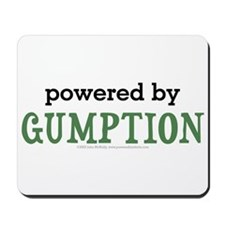 Powered By Gumption Mousepad