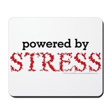 Powered By Stress Mousepad