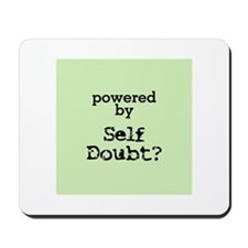 Powered By Self Doubt Mousepad