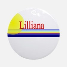 Lilliana Ornament (Round)