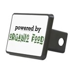 Powered By Organic Food Rectangular Hitch Cover