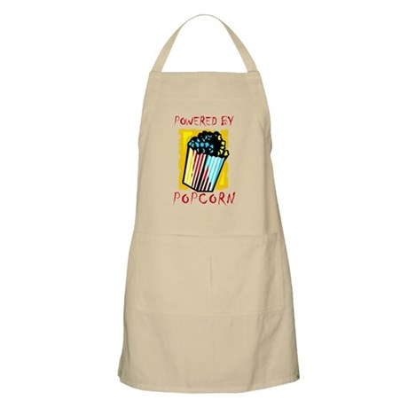 Powered By Popcorn Apron