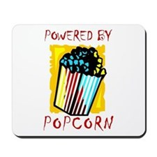 Powered By Popcorn Mousepad