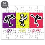 Go Eat Give logo Puzzle