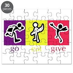 Go Eat Give logo Puzzle