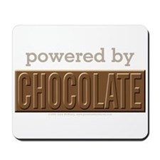 Powered By Chocolate Mousepad