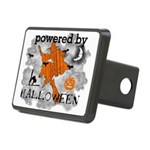 Powered By Halloween Rectangular Hitch Cover