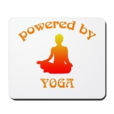 Powered By Yoga Mousepad