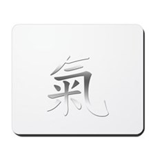 Powered By Qi (Chi) Mousepad