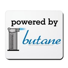 Powered By Butane Mousepad