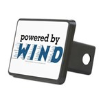 Powered By Wind Rectangular Hitch Cover