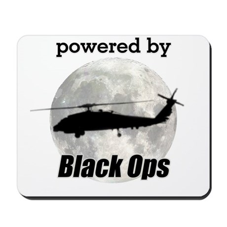 Powered By Black Ops Mousepad