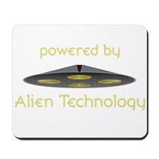 Powered By Alien Technology Mousepad