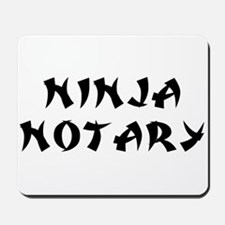 Ninja Notary Mousepad