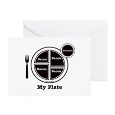 Bacon My Plate Greeting Card