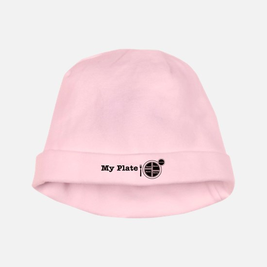 Bacon My Plate baby hat