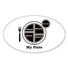 Bacon My Plate Decal